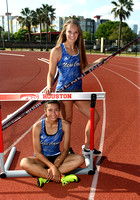 New Caney Track Girls