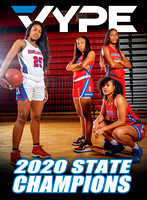 DUNCANVILLE Women's Basketball Cover 2020